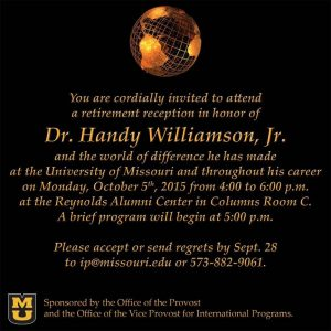 Handy Williamson Retirement Celebration