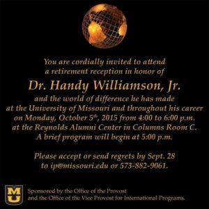 Handy Williamson Retirement Celebration