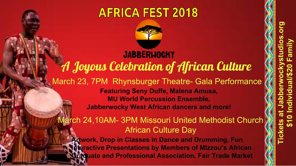 Africa Fest 2018 – African Culture Day – Saturday 3 24 2018