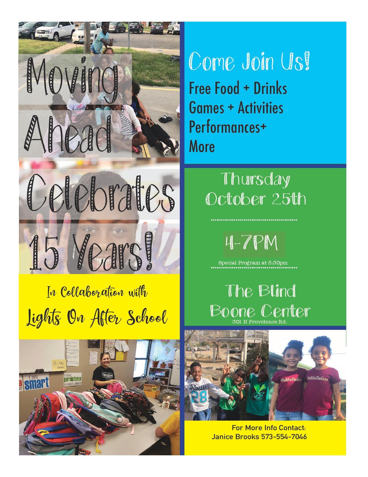 CHA Moving Ahead Program 15th Anniversary Celebration