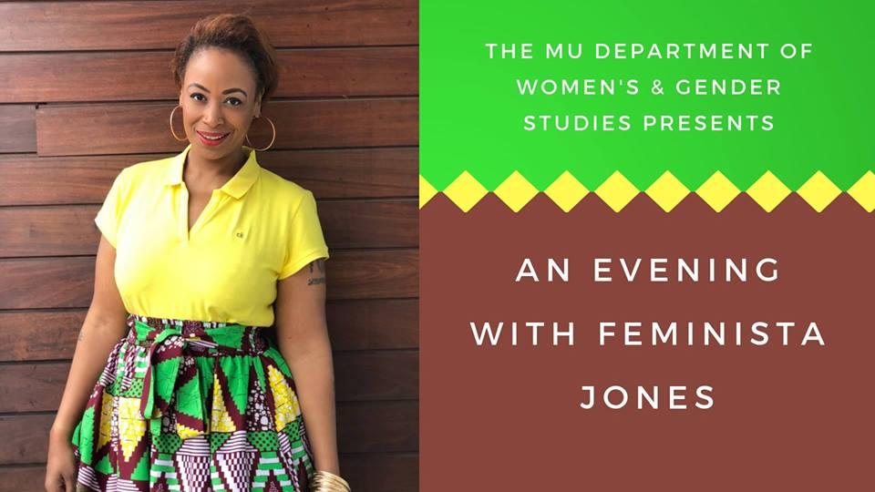 An Evening with Feminista Jones - Thursday 3.7.2019 - Wrench Auditorium - 4:30-6:30pm @ Wrench Auditorium -