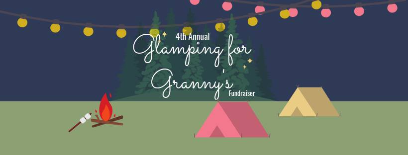 4th Annual Glamping for Granny's Fundraiser - Friday 3.15.2019 - Courtyard Marriott - 6-9pm @ Courtyard by Marriott   Columbia   Missouri   United States