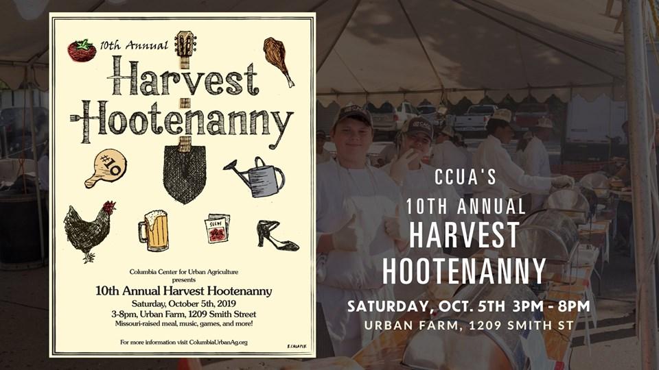 10th Annual Harvest Hootenany - Saturday 10.5.2019 - The Urban Farm - 3-8pm @ The Urban Farm | Columbia | Missouri | United States