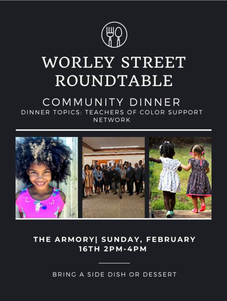Worley Street Round Table Community Dinner - Sunday 2.16.2020 - Columbia Armory - 2-4pm @ Columbia Armory | Columbia | Missouri | United States