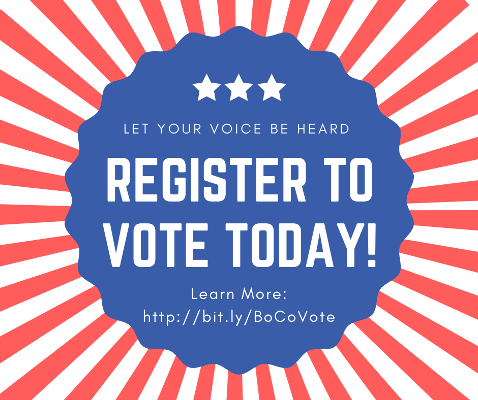 Wednesday 2.12.2020 - Last Day to Register to VOTE in the March 10th Presidential Primary